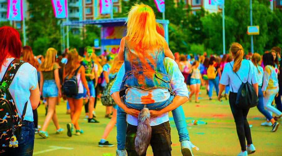 Festival of love and color