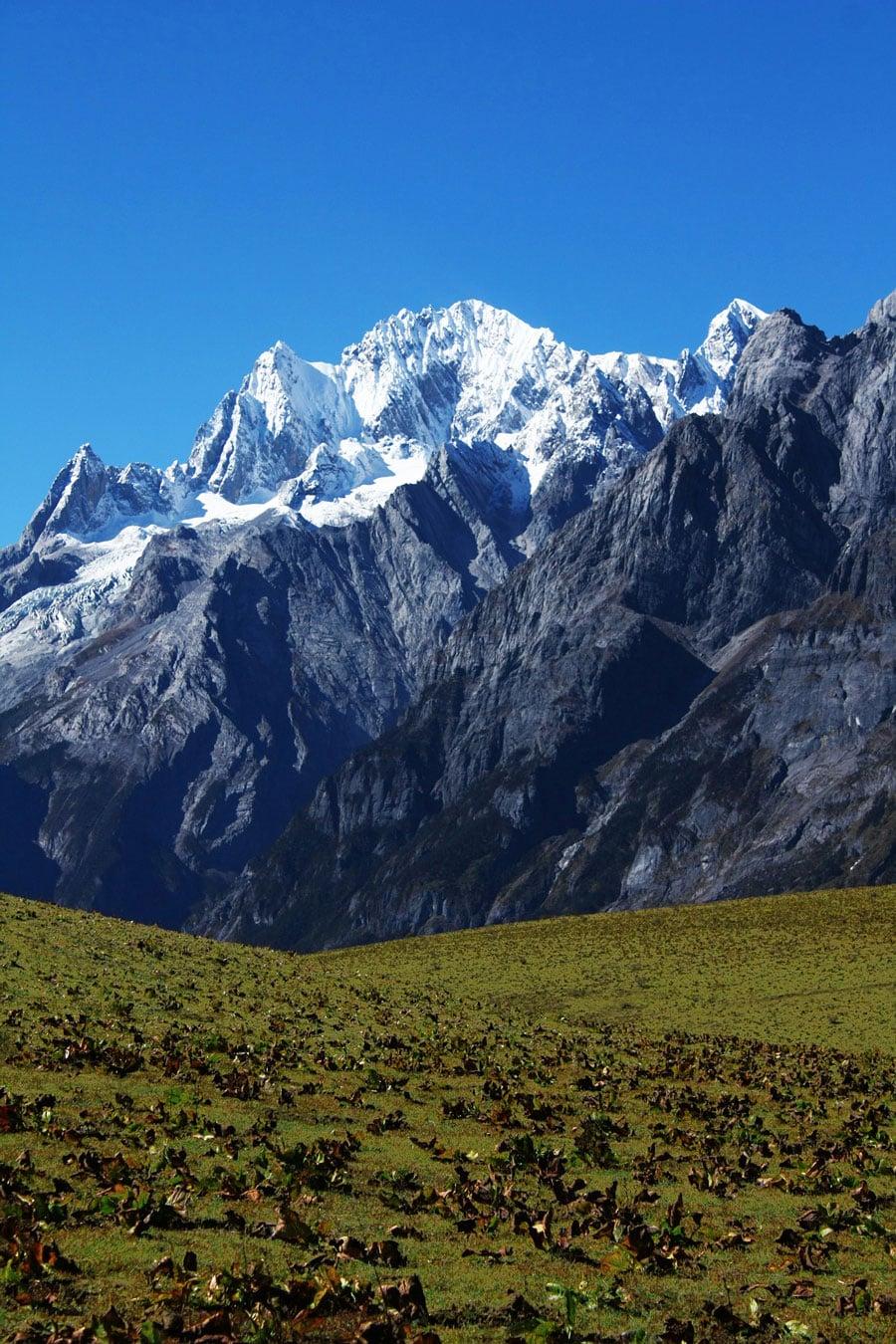 The Jade Dragon Snow Mountain in Lijiang