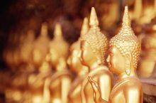 Wat Phra That Doi Kong Mu in Mae Hong Son