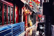 Wide and Narrow Alley of Chengdu